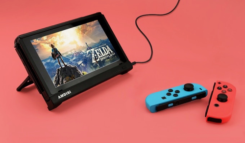 PELDA Pro - The First Nintendo Switch Battery Case with HDMI テーブルモード